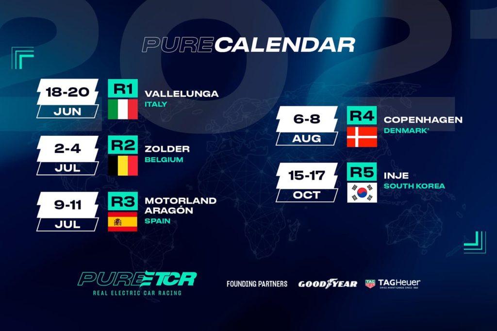 Pure ETCR   Finalmente il calendario 2021: si parte da Vallelunga a giugno