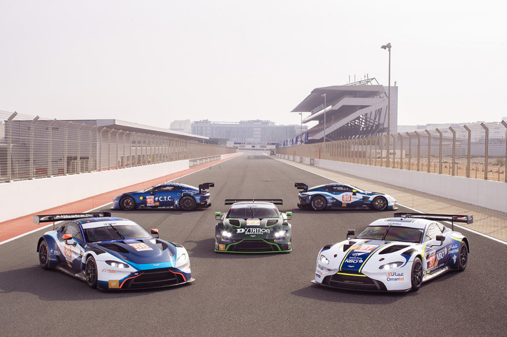 WEC e GT World Challenge Europe | Aston Martin annuncia il supporto ai team clienti
