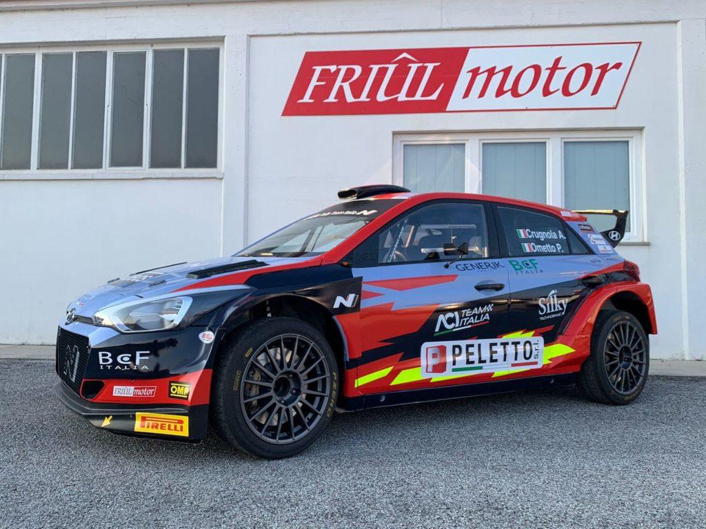 CIR | Crugnola ed Ometto difenderanno il loro titolo nel 2021 con Hyundai Rally Team Italia