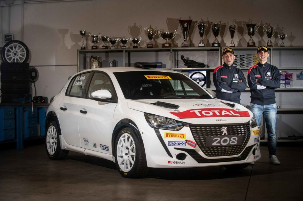 CIR   Andrea e Giuseppe Nucita nuovo equipaggio Peugeot per il Campionato Italiano Rally Due Ruote Motrici