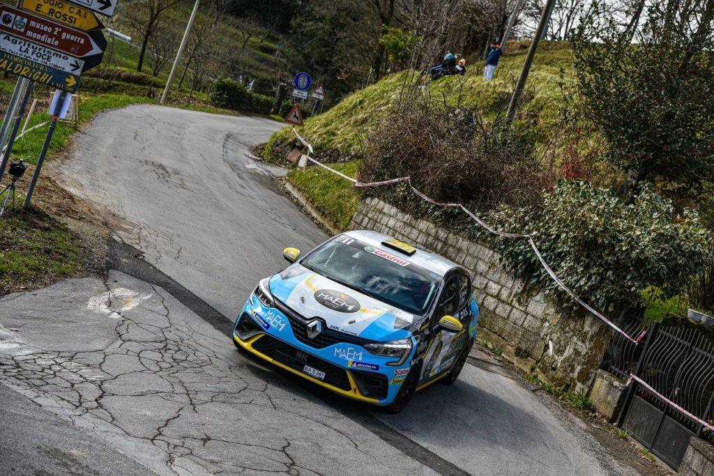 CIR | Rally Il Ciocco, vittoria nella R1 per Davide Nicelli, all'esordio con la Renault Clio Rally5