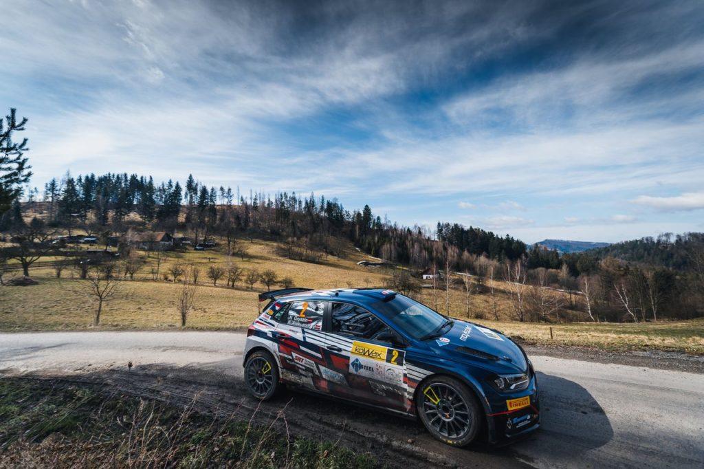 WRC2 | Nikolay Gryazin domina in Repubblica Ceca: test positivo al Kowax Valasska Rally in vista della Croazia