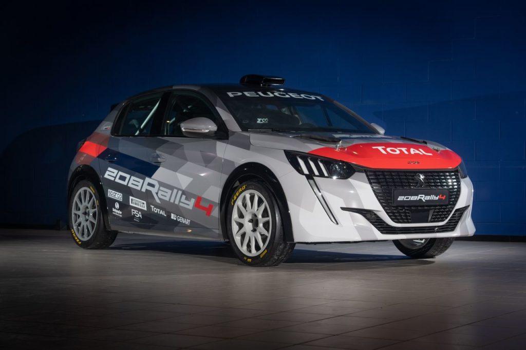 Peugeot 208 Rally4, consegnata ai clienti la centesima vettura. E anche l'Italia avrà il suo trofeo 208 Rally Cup