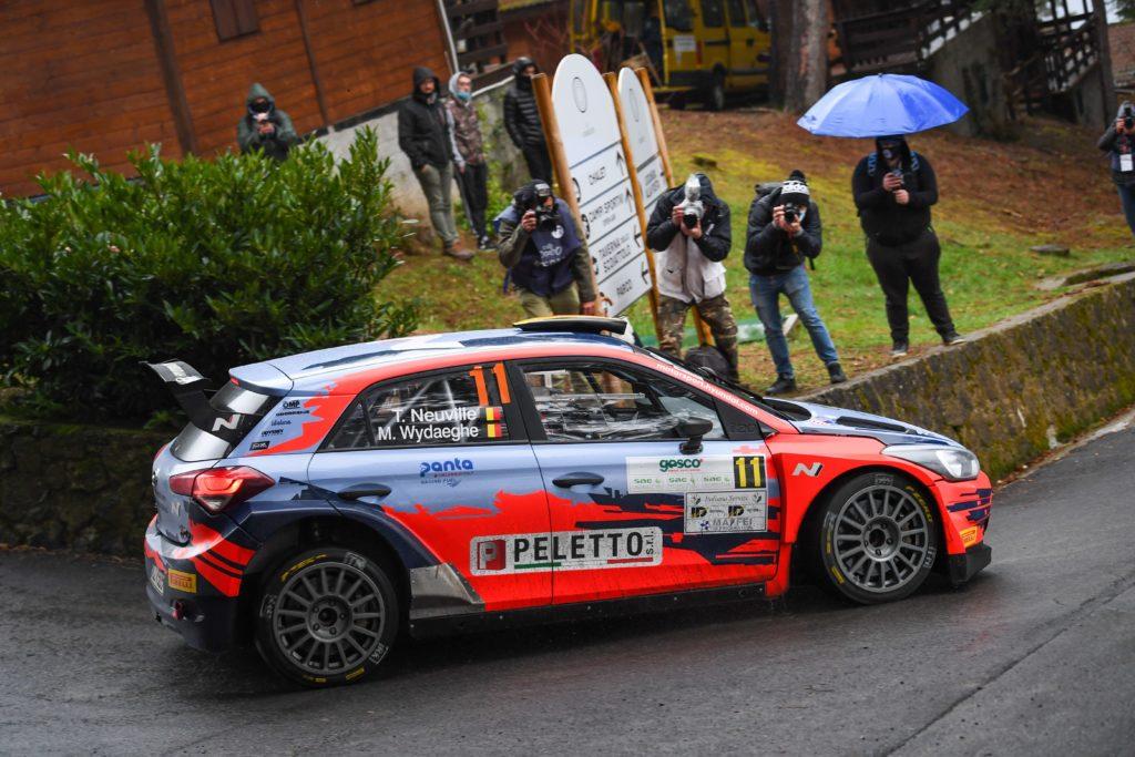 CIR | Rally Il Ciocco, Neuville si aggiudica la Power Stage davanti ad Andreucci