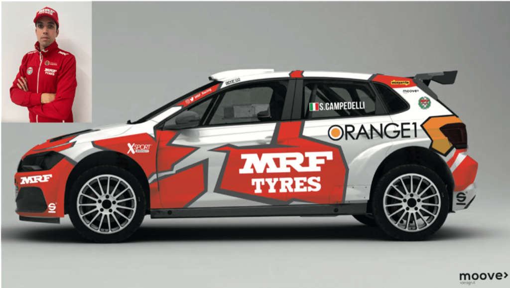 ERC | Simone Campedelli approda nel Campionato Europeo Rally con MRF Tyres