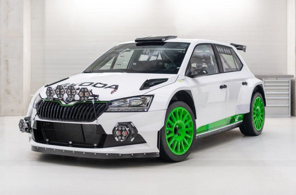 Skoda Fabia Rally2 Evo, lanciata l'edizione speciale per i 120 di Skoda nel motorsport