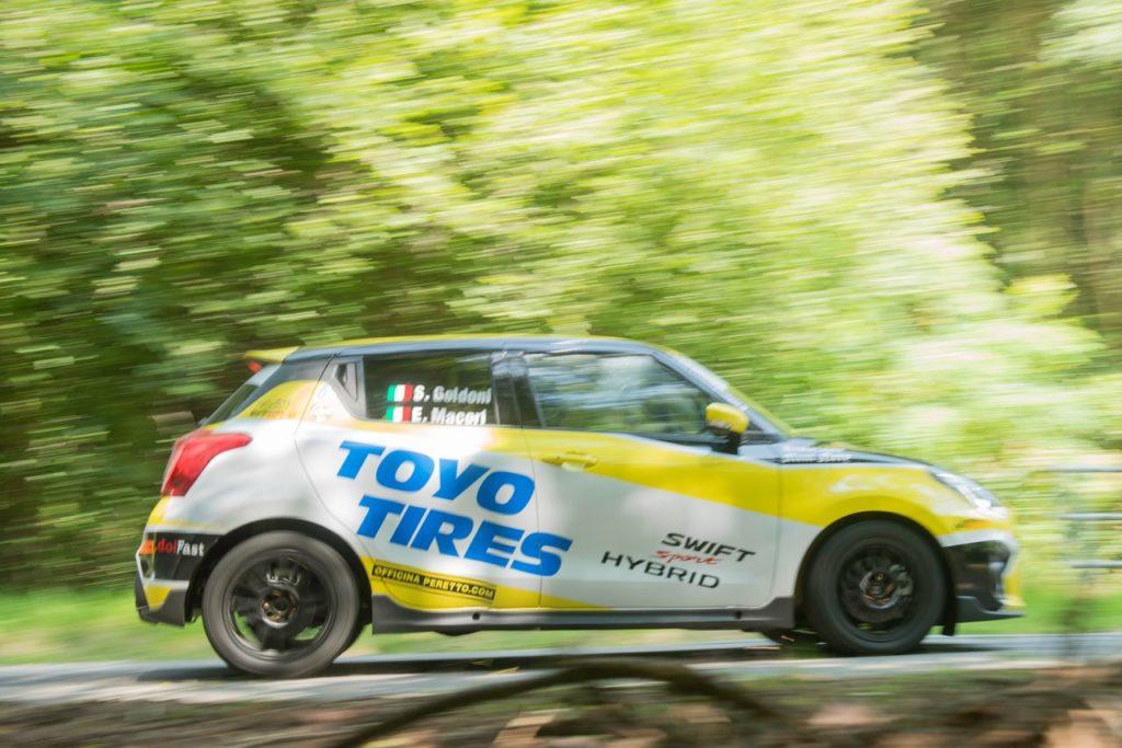 Suzuki Rally Cup | Comincia la stagione 2021 al Ciocco: gli equipaggi al via