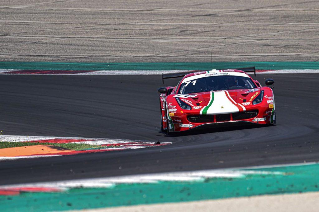CIGT | Fuoco, Schreiner e Hudspeth con la Ferrari di AF Corse nel 2021