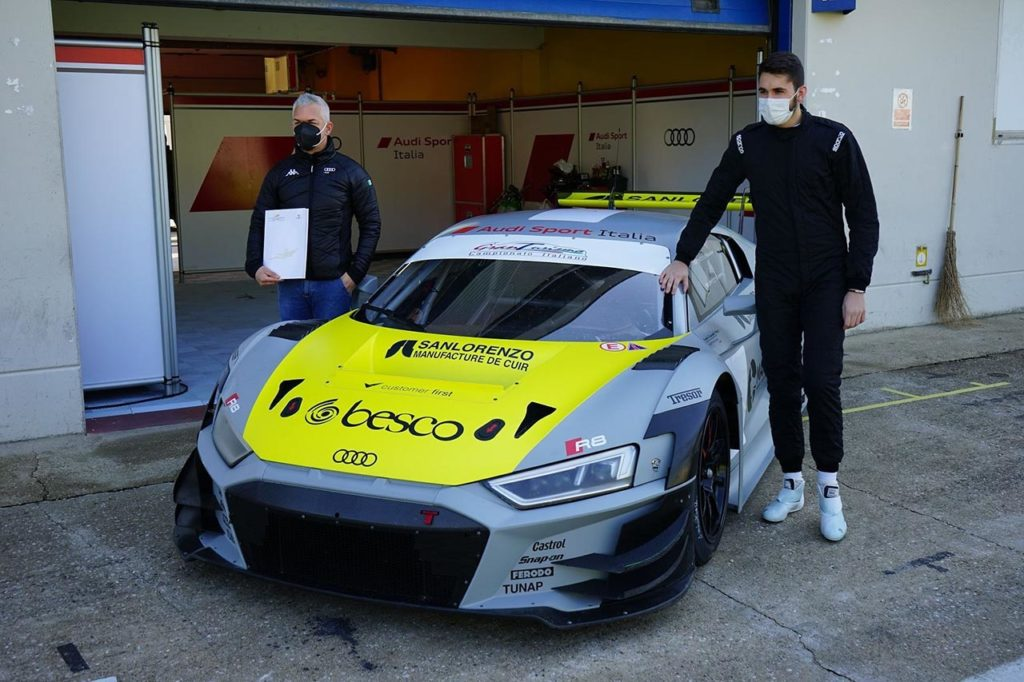 CIGT | Audi Sport Italia annuncia Postiglione e Morricone per la stagione 2021