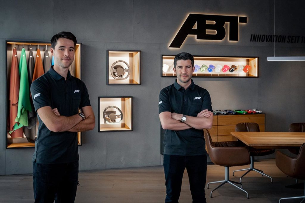 DTM   Rockenfeller e van der Linde con le due Audi di Abt Sportsline