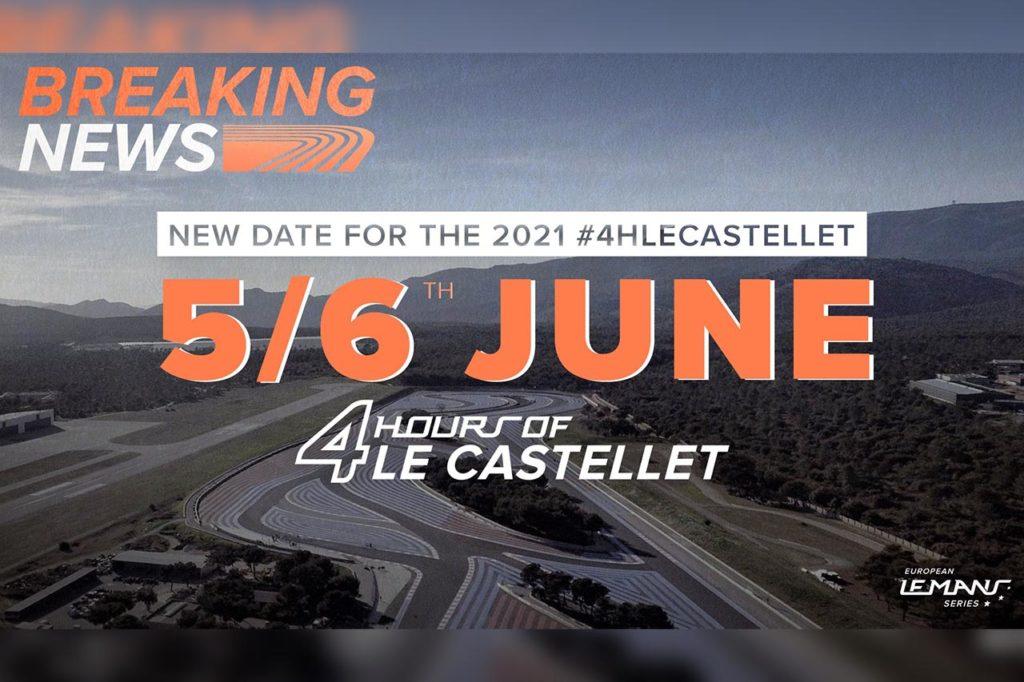 ELMS | La 24 Ore di Le Mans influenza il calendario: spostata Le Castellet a giugno