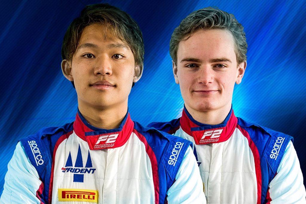F2 | Trident presenta la line-up per il 2021: ecco Sato e Viscaal