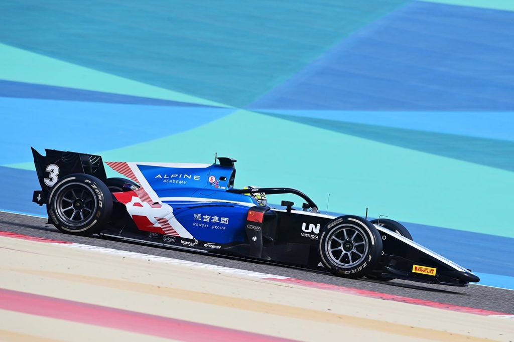 F2 | Sakhir, Qualifiche: Zhou in pole position con UNI-Virtuosi [AGGIORNAMENTO]