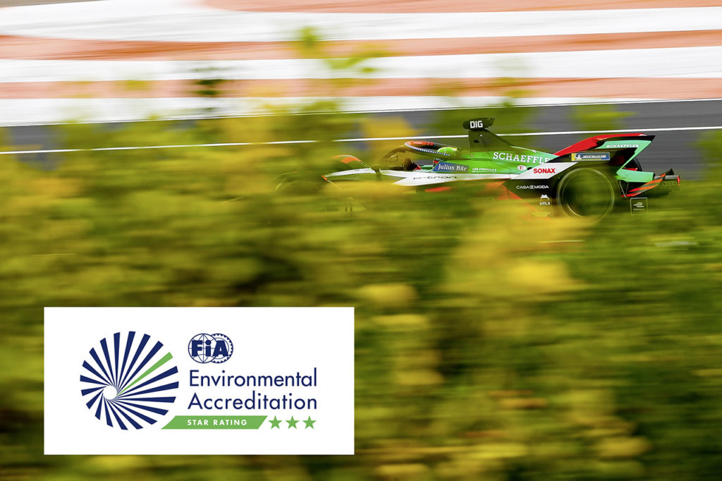Formula E | FIA assegna ad Audi il massimo riconoscimento per la sostenibilità ambientale