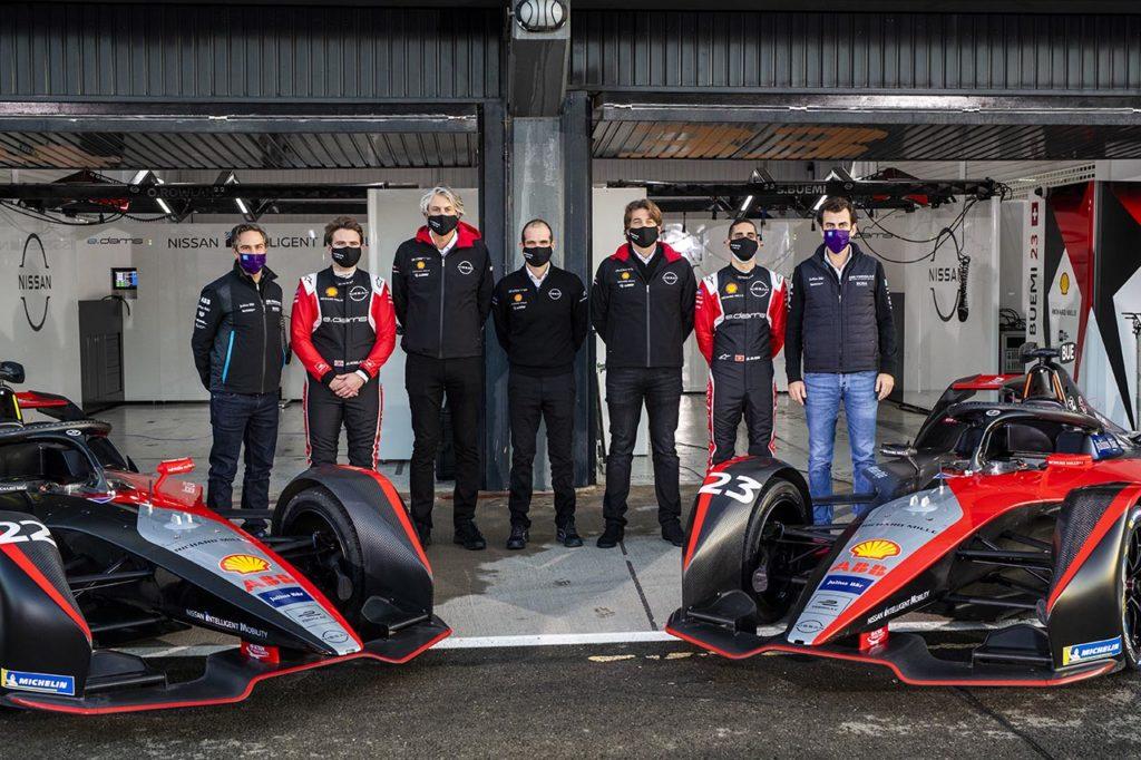 Formula E   Anche Nissan e.dams conferma l'impegno con le nuove auto Gen3