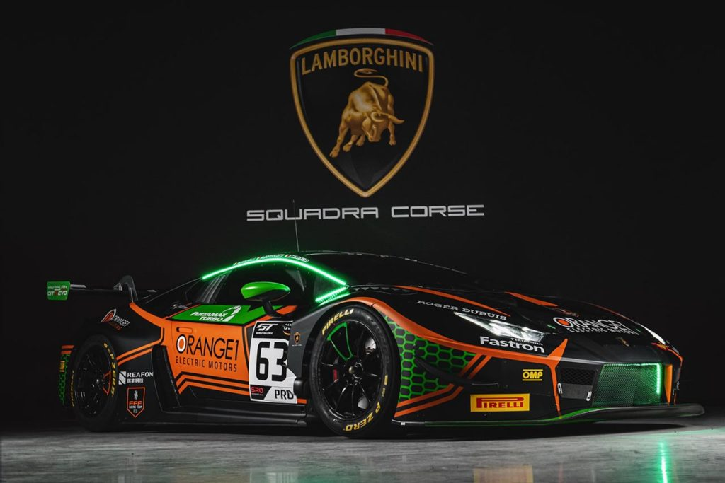 GTWC Europe | Orange1 FFF Racing Team al via dell'Endurance Cup con una Lamborghini