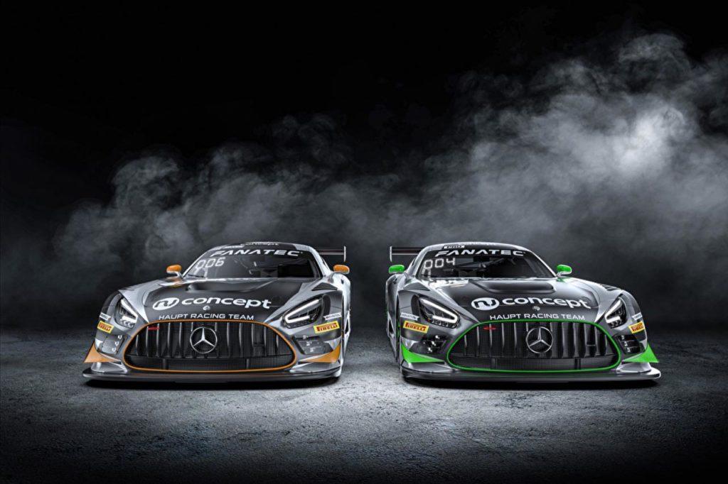 GTWC Europe   Haupt Racing Team svela i piloti delle due Mercedes per l'Endurance Cup