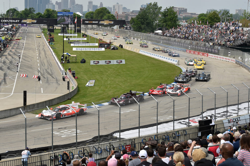IMSA | Detroit posticipata nello stesso weekend dell'IndyCar Series