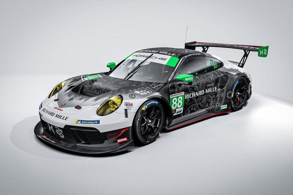 IMSA | Legge-Nielsen con una seconda Porsche del Team Hardpoint EBM in GTD