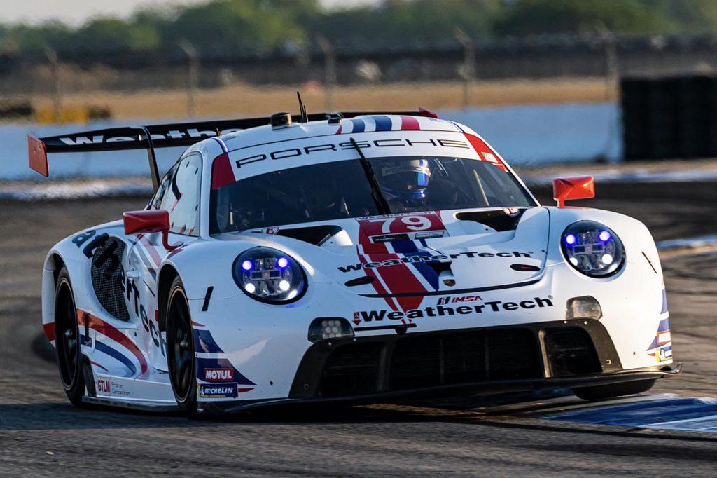 IMSA | Porsche conquista due vittorie alla 12 Ore di Sebring nelle classi GT