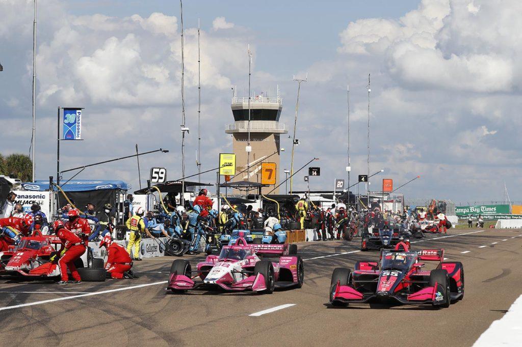 IndyCar   Ridotto a due giornate il weekend nei circuiti stradali per il 2021