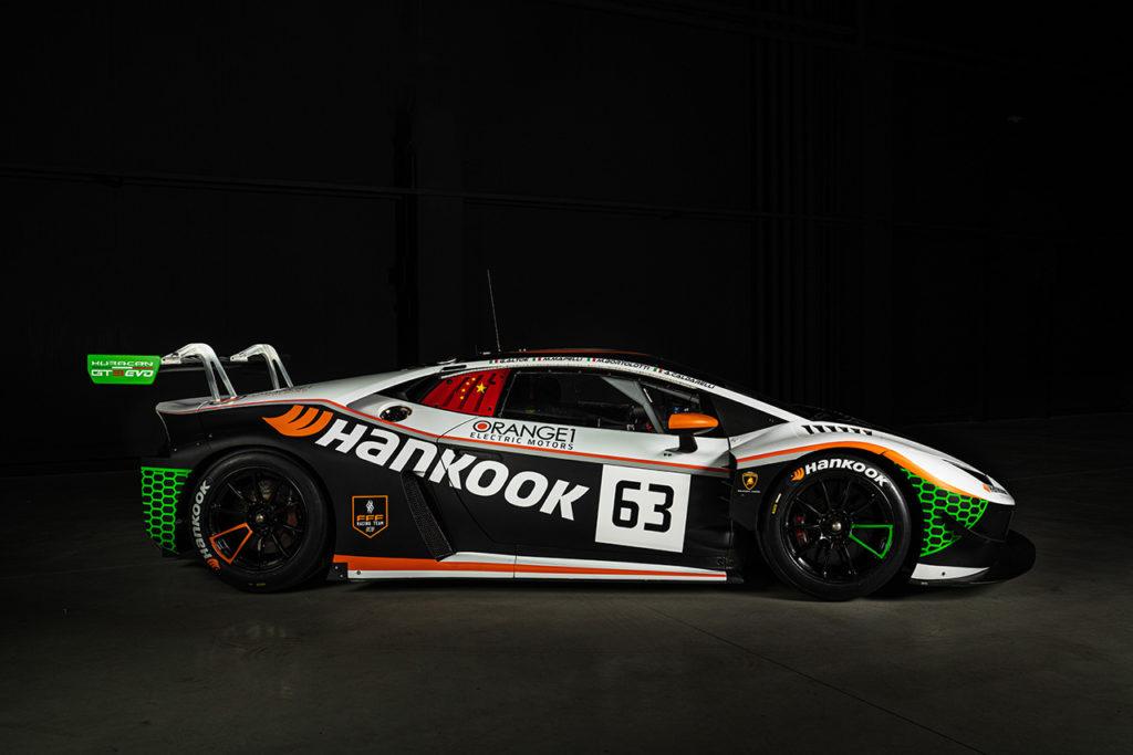 NLS | Caldarelli, Mapelli, Bortolotti e Altoè sulla Lamborghini di Orange1 FFF Racing
