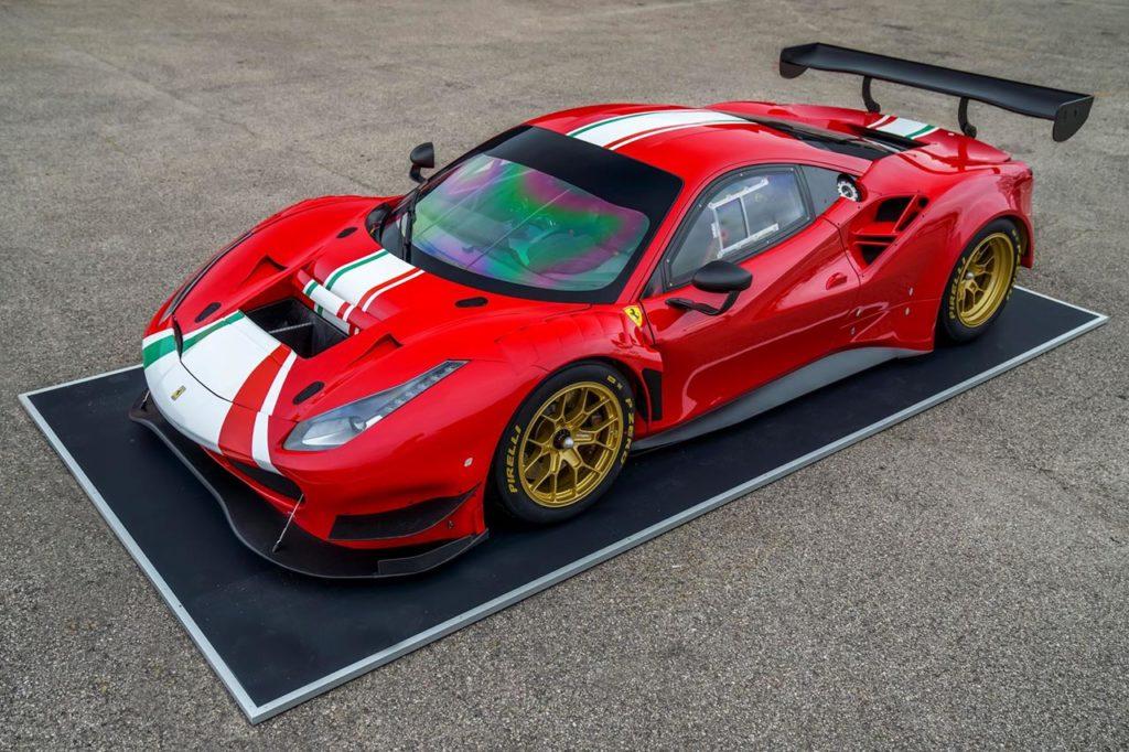 Pirelli monta le P Zero DHE alla nuova Ferrari 488 GT Modificata