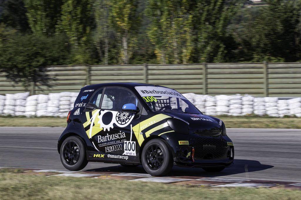 smart EQ fortwo e-cup | L'ex F1 Liuzzi al via in alcuni round con Barbuscia