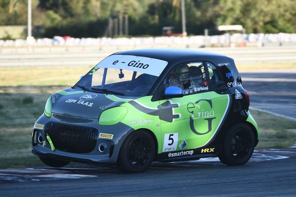 smart EQ fortwo e-cup | Carboni continua con E-Gino anche nella stagione 2021
