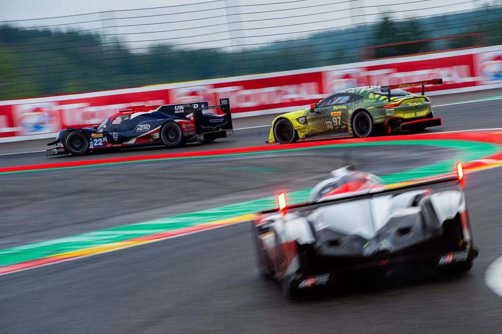 WEC   Pubblicata l'entry list provvisoria per Spa-Francorchamps: 37 auto confermate
