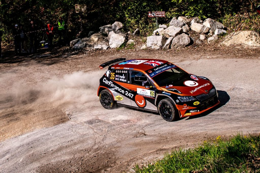 WRC3 | La lezione appresa da Chris Ingram al Rally Croazia, nel suo debutto al Mondiale