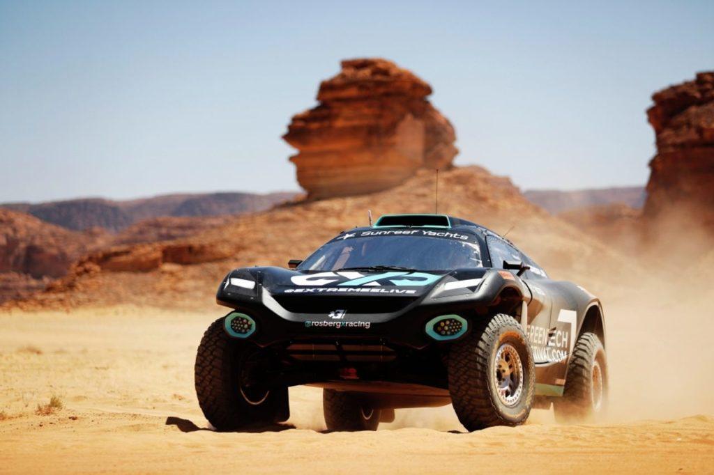 Extreme E | Desert X Prix, Q1: in testa il team di Rosberg davanti a quello di Hamilton. Incidenti per ABT Cupra e Veloce Racing