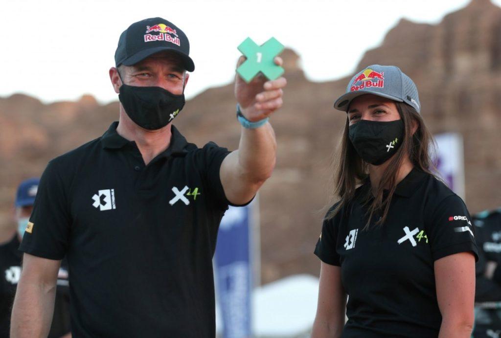 Extreme E   Il team X44 di Hamilton in testa nella Q2 dopo la penalizzazione del Rosberg X Racing