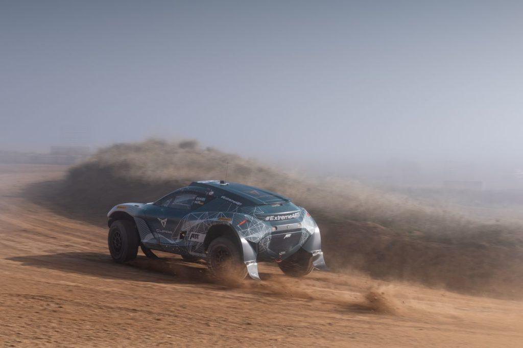 Extreme E | Cambia il format di gara per le qualifiche del Desert X Prix, apertura del campionato
