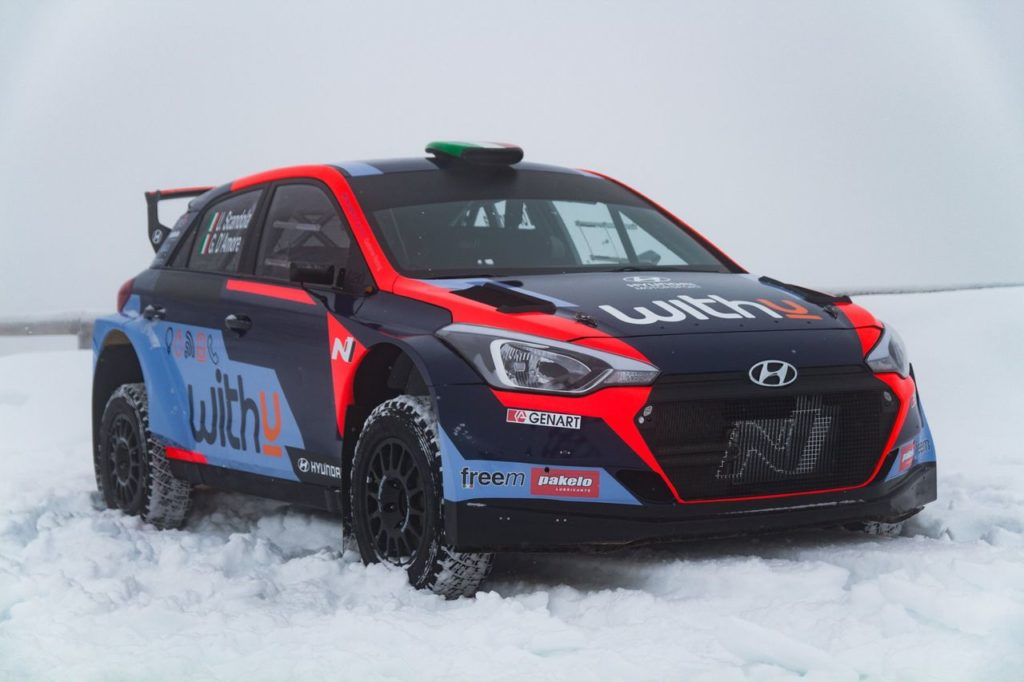 ERC | Ufficiale: Hyundai Rally Italia nel campionato europeo 2021 con Scandola e D'Amore