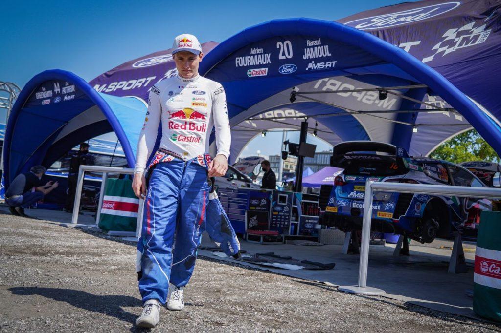 WRC   Adrien Fourmaux in gara sulla Ford Fiesta WRC anche al Rally Portogallo