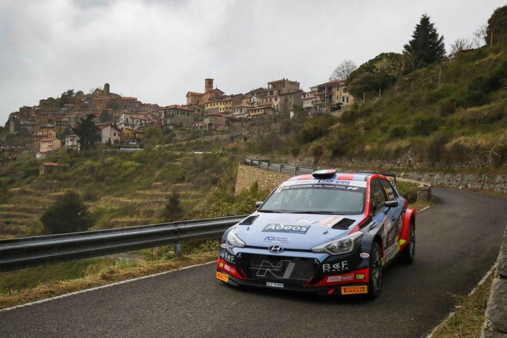 Rallye Sanremo, Ivan Ferrarotti vince il Rally delle Palme. Movisport festeggia anche il podio di Crugnola