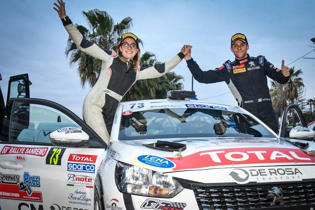 Peugeot Competition | 208 Rally Cup Top 2021, la prima affermazione è di Lucchesi. Svetta anche Farina