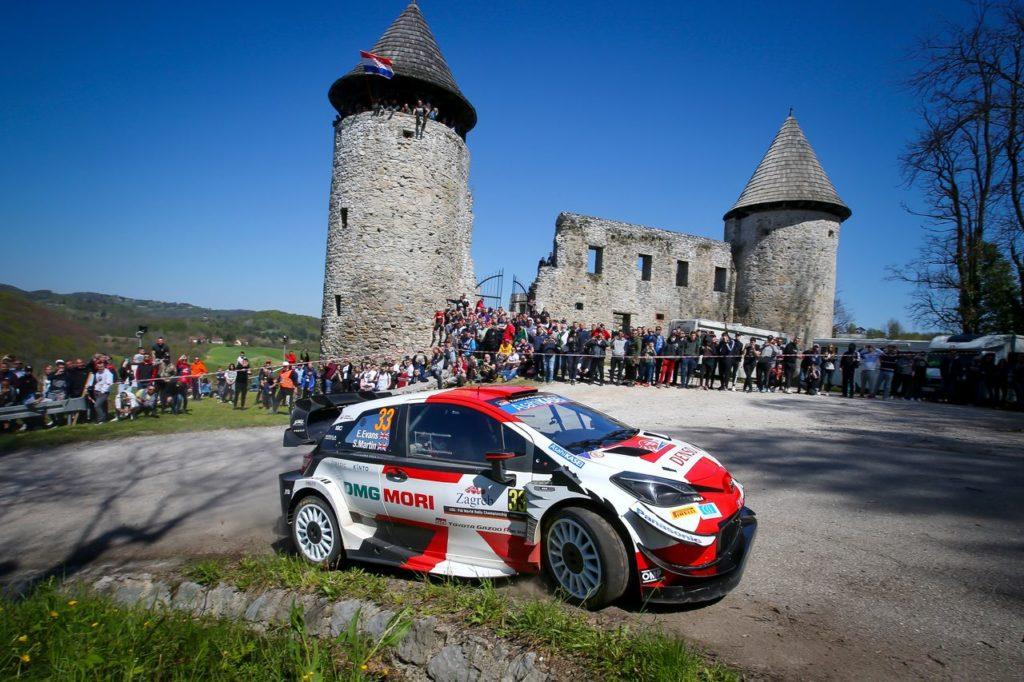 WRC   Rally Croazia 2021: ad una prova dal termine Evans assume il comando. Imprevisto per Ogier
