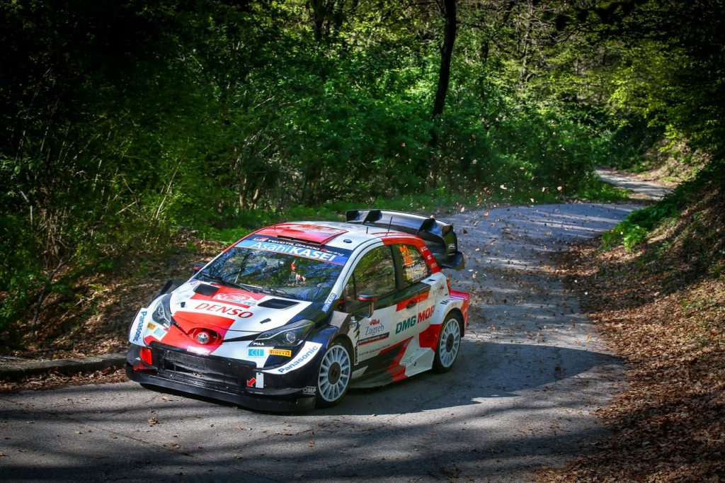 WRC | Rally Croazia, Evans ottiene il miglior tempo nello shakedown