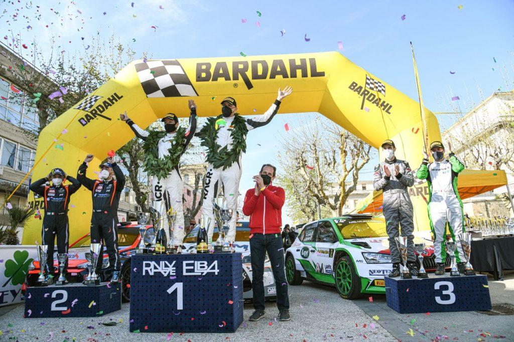 CIWRC | Rallye Elba 2021, Pedersoli e Tomasi inaugurano il campionato con la loro vittoria