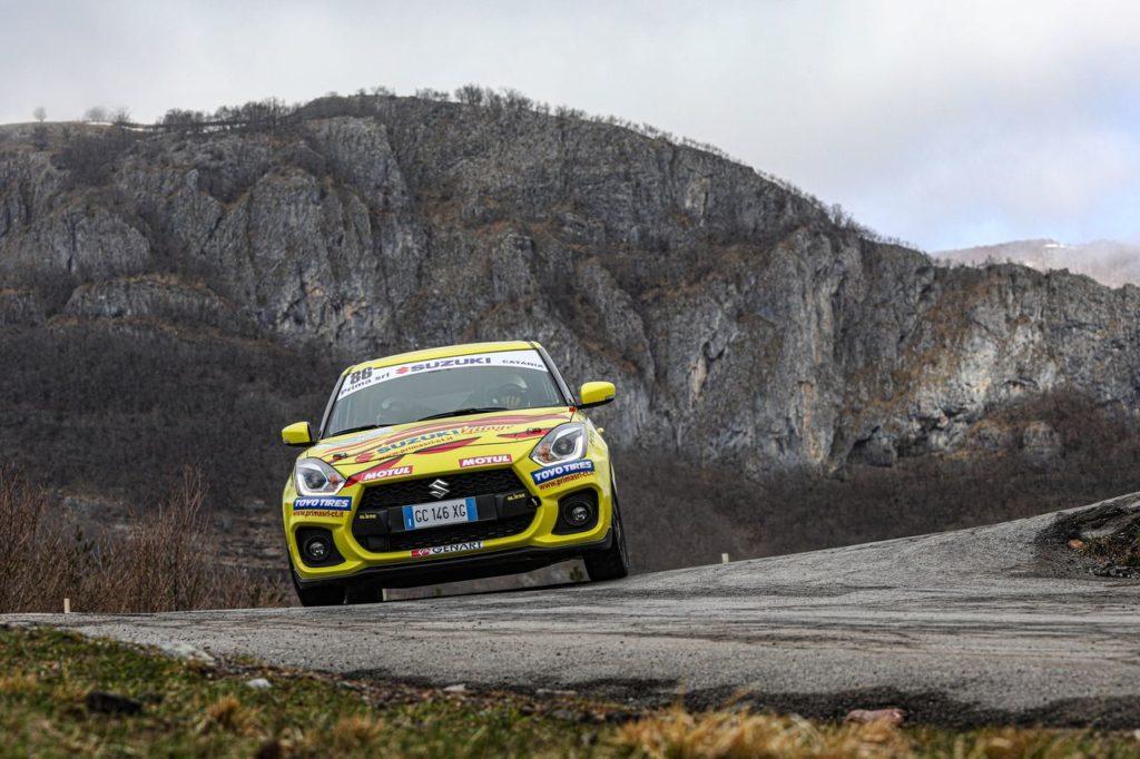 Suzuki Rally Cup | Secondo round al Rallye Sanremo: i trofeisti iscritti