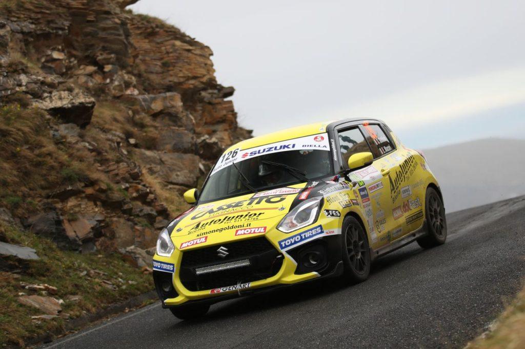 Suzuki Rally Cup | Fortissimamente Goldoni: seconda vittoria di fila al debutto al Rallye Sanremo