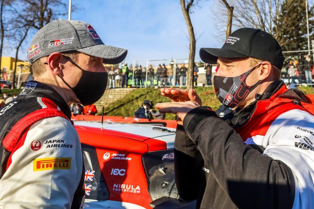 WRC | Ogier preferisce non essere leader di campionato in questo momento. E il suo team principal Latvala riceve le lodi dalla squadra