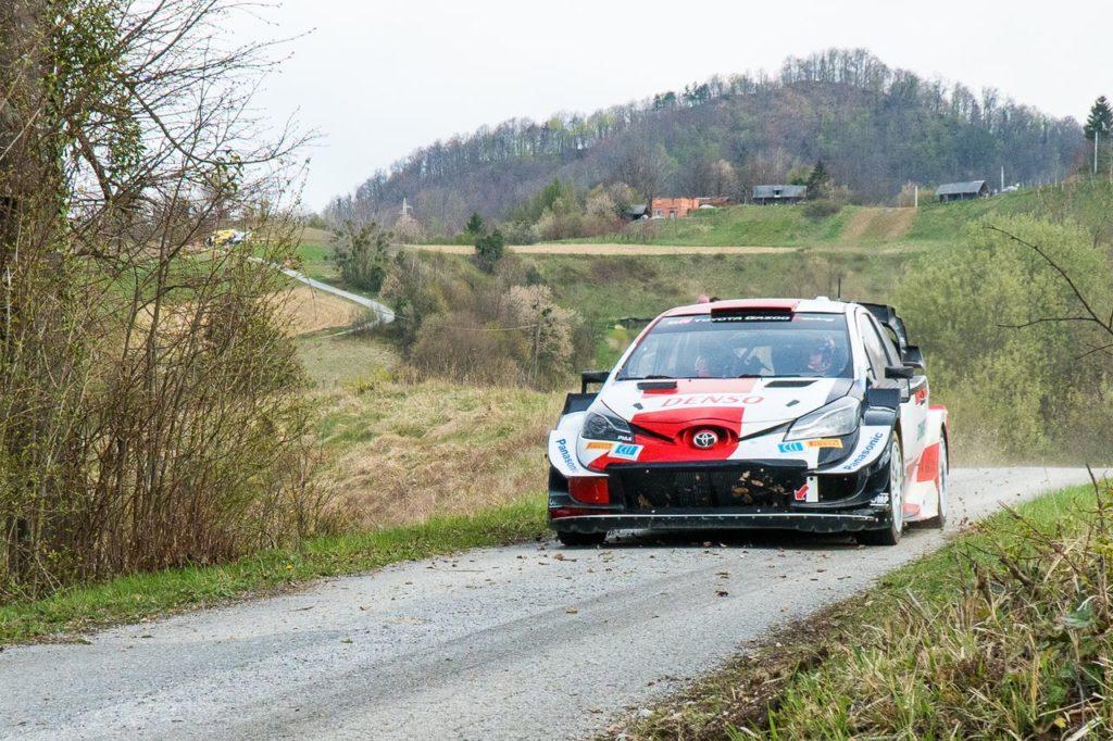 WRC   Toyota testa la nuova Rally1 2022? Intanto si prepara per l'inedito Rally Croazia