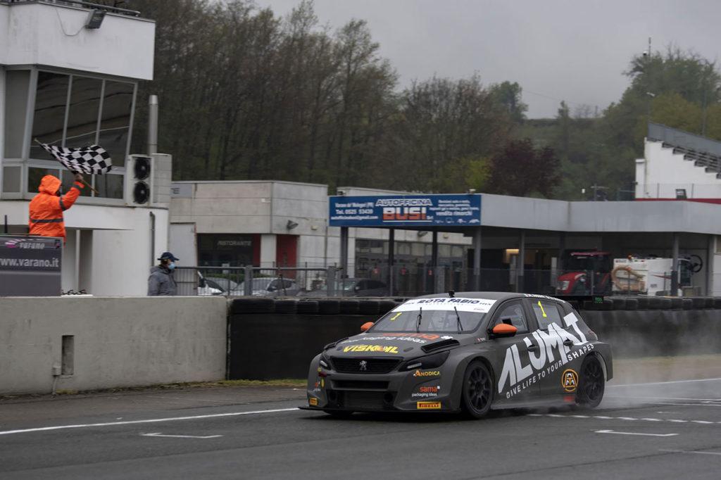 ATCC | Doppio podio per Arduini e Bodega a Varano con la Peugeot 308 TCR