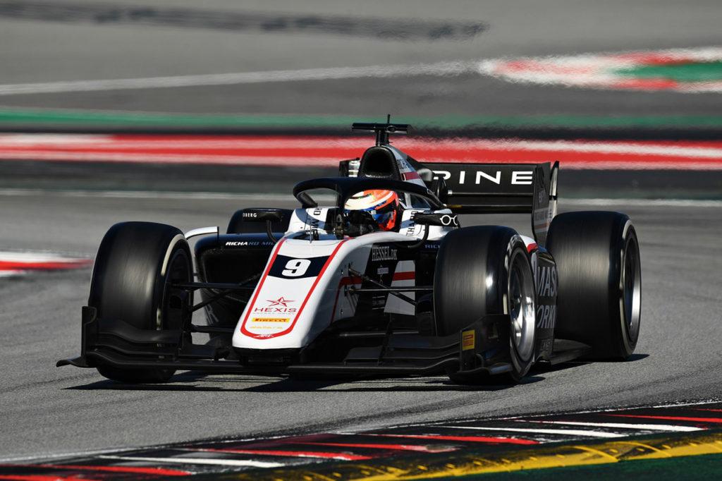 F2 | Test Barcellona, Giorno 1: Lundgaard domina entrambe le sessioni con ART Grand Prix
