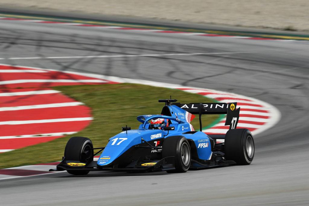 F3 | Test Barcellona, Giorni 1-2: Martins il più veloce con MP Motorsport