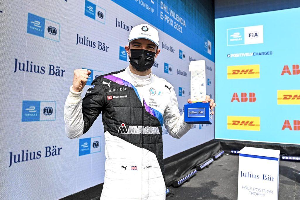 Formula E | Valencia, Qualifiche 2: Dennis e BMW miracolati dall'asfalto asciutto