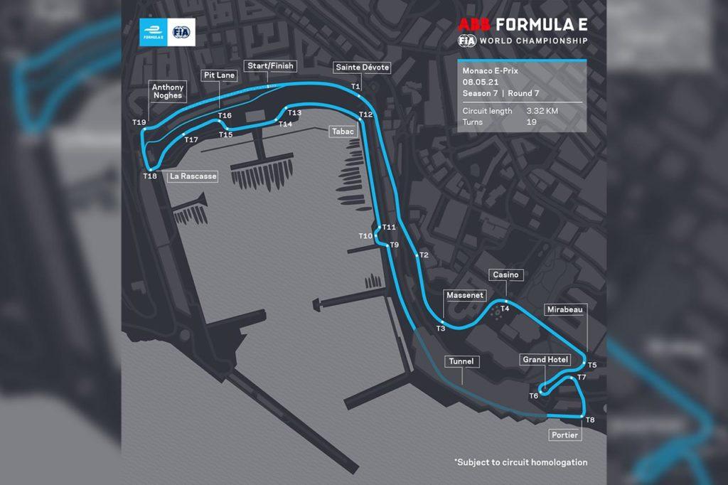 Formula E | Monaco si allunga quanto la Formula 1: ecco il tracciato completo nel 2021